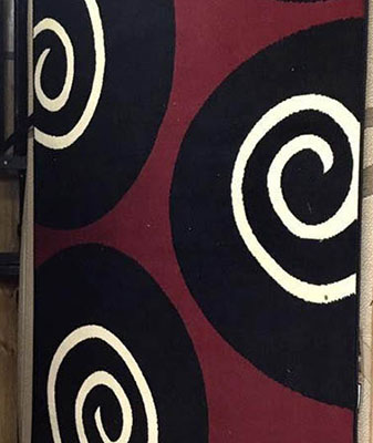 In-Stock area rugs at Clarks Building & Decorating Center in Hot Springs, Arizona