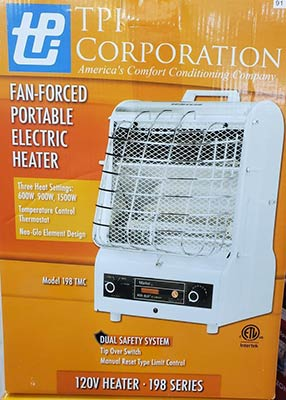 In-Stock Heaters at Clarks Building & Decorating Center in Hot Springs, Arizona