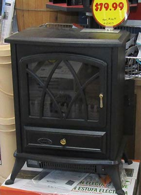 In-stock heater