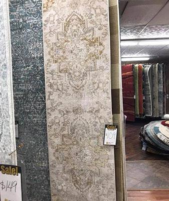 In-Stock rug runner at Clarks Building & Decorating Center in Hot Springs, Arizona